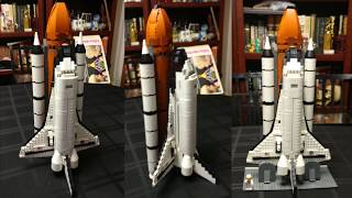 Timelapse Assembly of Lepin 16014 - Space Shuttle Expedition - Equivalent of Lego 10231