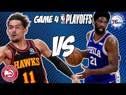 Atlanta Hawks vs Philadelphia 76ers Game 4 6/14/21 NBA Playoff Free NBA Pick & Prediction