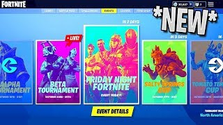 *NEW* In Game Tournament Playlist! Everyone Can PLAY! Fortnite Battle Royale