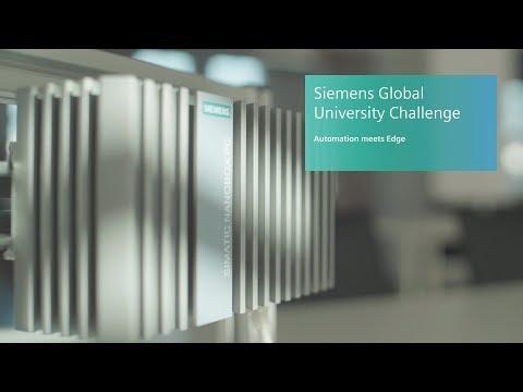 Automation meets Edge - Siemens Global University Hackathon, Nuremberg