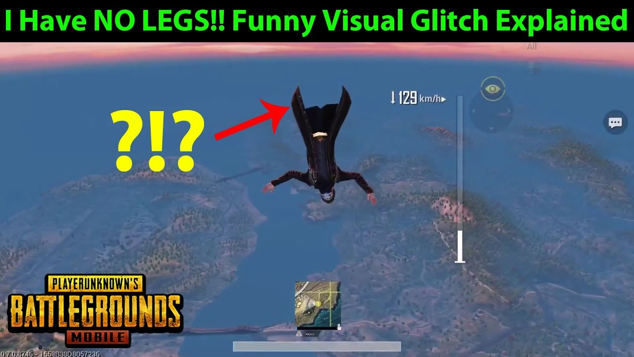 Image result for BuG PUBG Mobile without leg