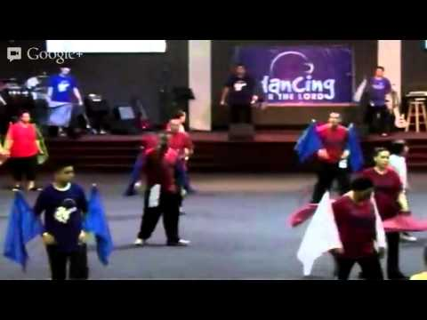 Arise to Worship - Flags Workshop - Dancing For The Lord - Orlando 02-23-2013