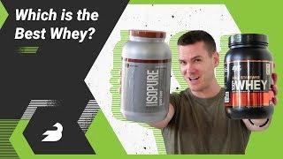 Optimum Nutrition Whey vs Isopure Low Carb