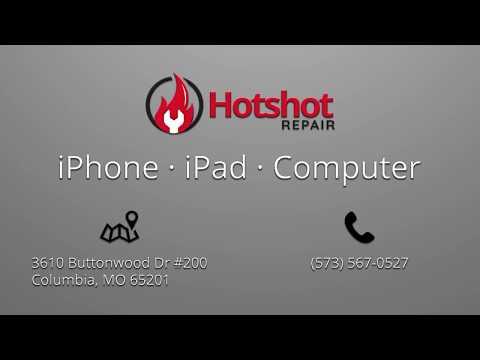 iPhone Repair in Columbia MO at Hotshot Repair (5/14/2018)