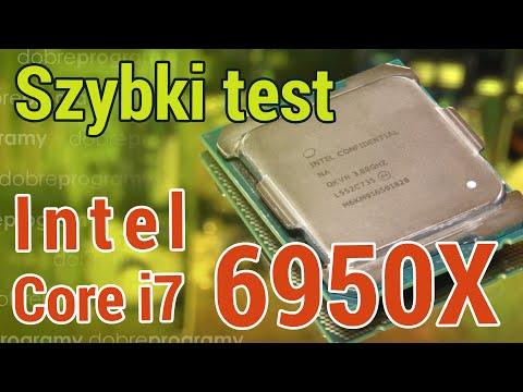 Intel Core I7 6950X – testujemy procesor za ponad 8000 złotych!