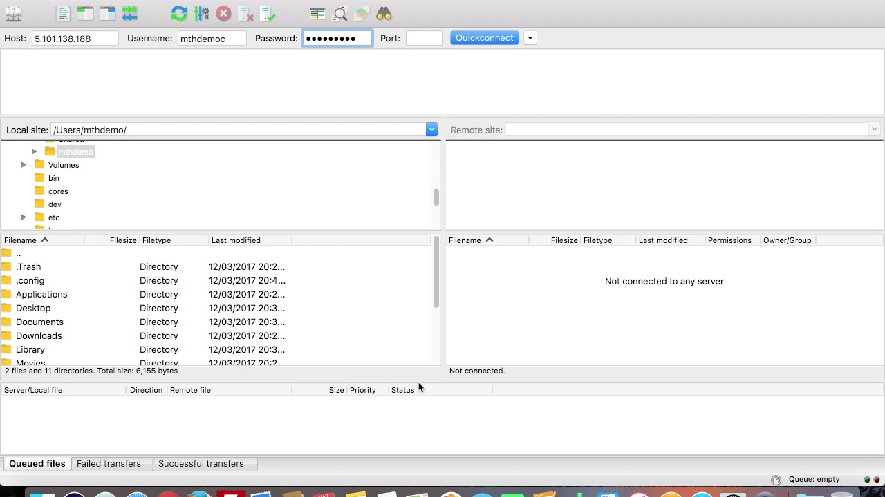 filezilla per mac