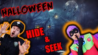 Hide and Seek in HALLOWEEN COSTUMES! (Ft. MoreJStu)