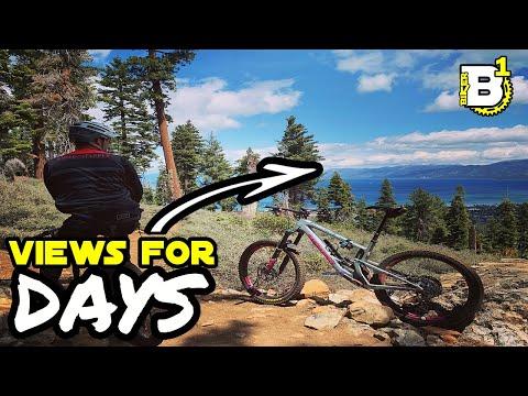 An Easy but FUN South Lake Tahoe ride - Angora Ridge
