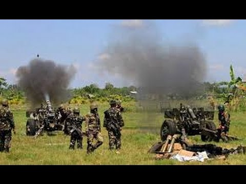 LIVE FOOTAGE! MAUTE GROUP vs ARMY in Mindanao.