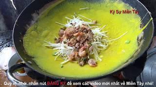 Bánh xèo Bến Nhất, Giồng Riềng, Kiên Giang  | Kien Giang food | Vietnam food