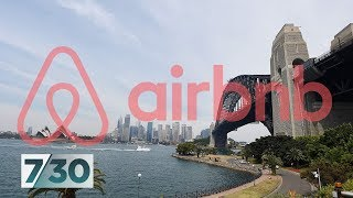 Gambar cover Airbnb dividing Australia's tourist towns | 7.30