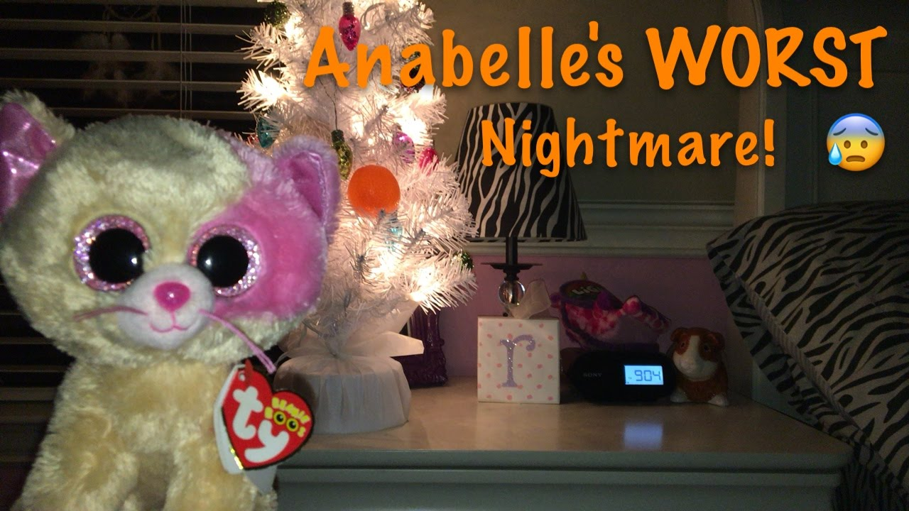 4ad4267a313 Beanie Boo s  Anabelle s Worst Nightmare! - YouTube