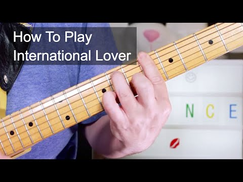 'International Lover' Prince Guitar Lesson