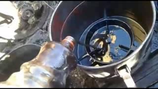Трактор ДТ 75  фракционы  тормозные колодки замена сателитов