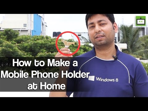 how to make mobile phone at home