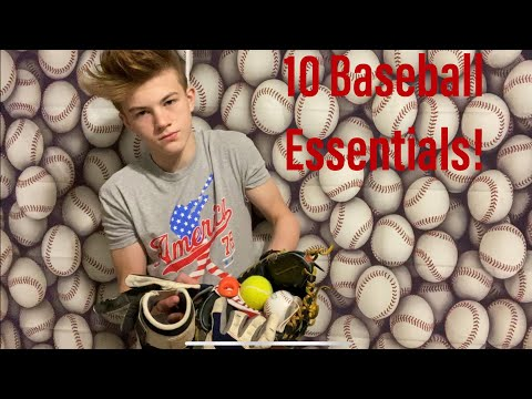 Every Baseball Player Needs These 10 Essential Things!