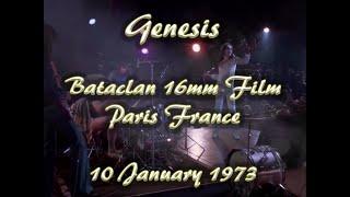 Genesis Live Bataclan France 16mm January 10, 1973 (4K)