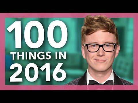 100 Things We Did in 2016   Tyler Oakley
