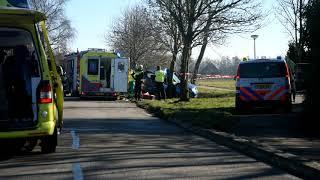 26-02-2019 Zwaar ongeluk bij Kloosterburen