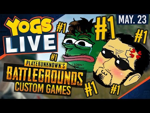 PUBG CUSTOMS w/ Barry & ISP - 23rd May 2017