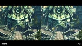 Darksiders 2: Wii U vs. PC Comparison Video