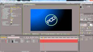 how to make a logo effect intro in after effects cs4 or cs5