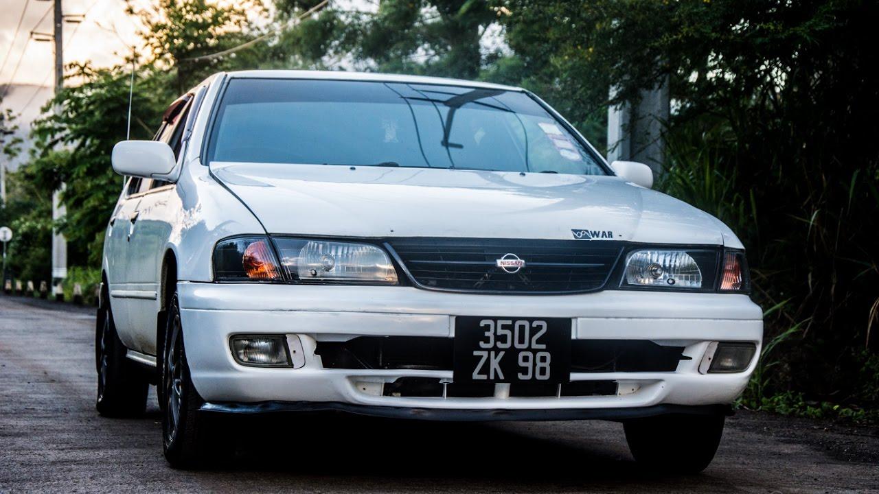 Nissan B14 Rally Test Drive Youtube