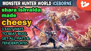 Shara Ishvalda Made Easy How To Cheese Er Beat Iceborne S Main Boss Technobubble I tried joining sos, calling sos, going solo (i feel like i was pretty close this time. shara ishvalda made easy how to cheese