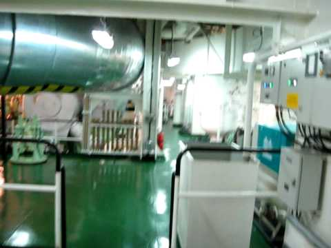 "m/v "" CCNI NINGBO"" Engine room"