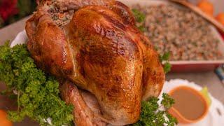 🔴 СОЧНАЯ ИНДЕЙКА 🔴 запеченная в духовке целиком + гарнир подливка новогодний рождественский рецепт