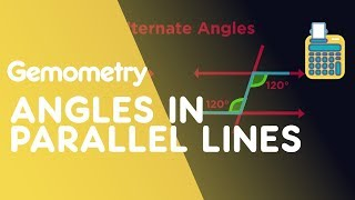 Angles in Parallel Lines   Geometry   Maths   FuseSchool