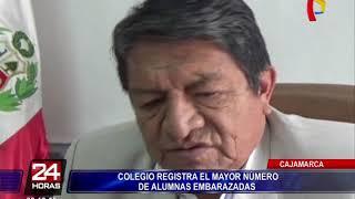 Cajamarca: colegio registra el mayor número de alumnas embarazadas