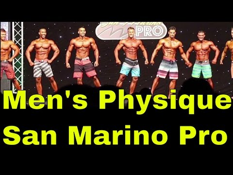 My Men's physique trip to the San Marino Pro 2016 | Vlog #6