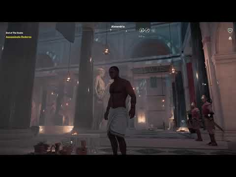 Assassin's Creed Origins [Gameplay 9] Bath House Ninja Assassin