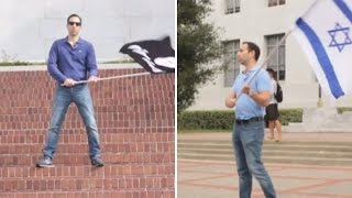 ISIS vs Israel: Guess which flag sparks backlash on campus