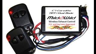 c7 corvette stingray mild2wild exhaust controller install review