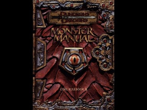 3. 5/3. 0 dungeons and dragons monster manual bundle (all five books.