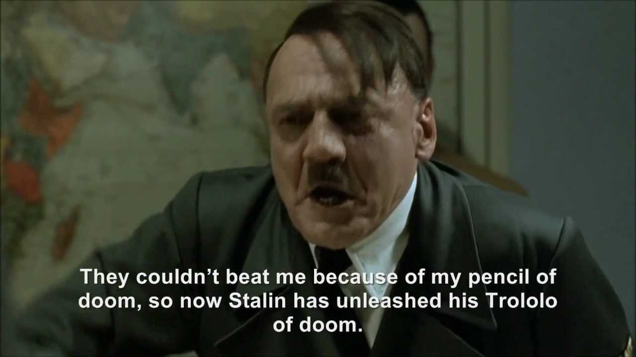 Hitler and the Trololo incident