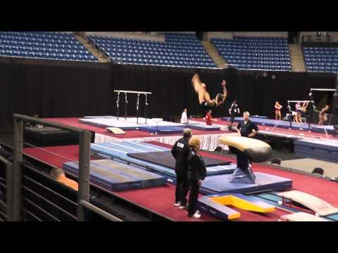 Alicia Sacramone - Vault - 2012 Visa Championships Podium Training