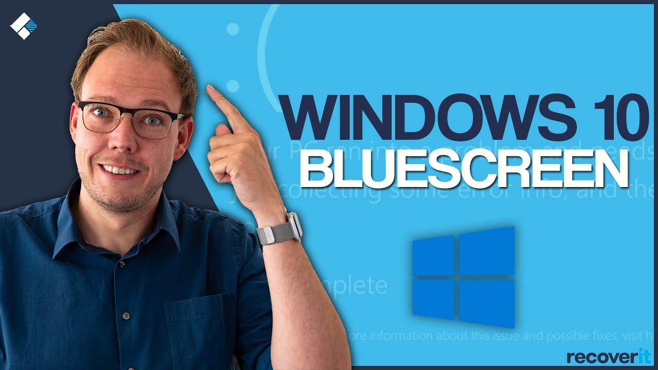 Windows 10 zeigt Bluescreen: So beheben Sie den Fehler