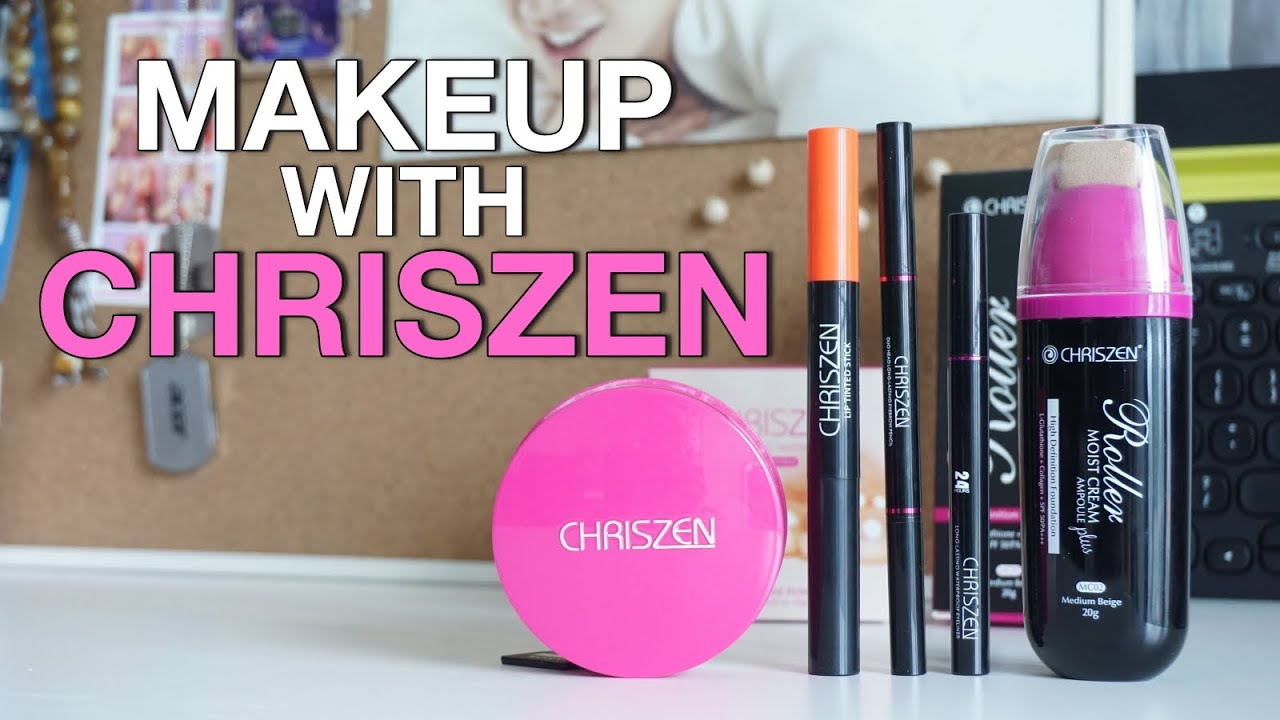 Product Review Amp Makeup With CHRISZEN Nisa Kay YouTube