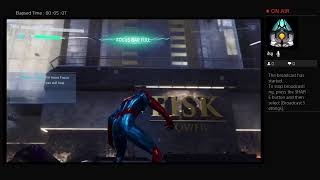 Playing spider man (new game +)