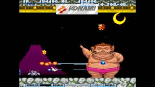 parodius DA! (Very difficult difficulty) survival play