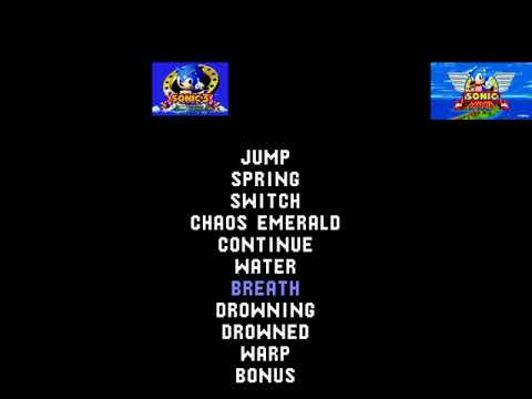 Sonic The Hedgehog Sound Effect And Jingle Comparison (Updated)