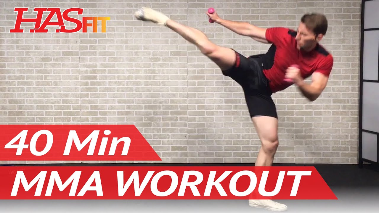 40 Min Mma Workout Routine Mma Training Exercises Ufc Workout Bjj