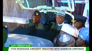 Five Mushshak Aircraft inducted into Nigerian Airforce