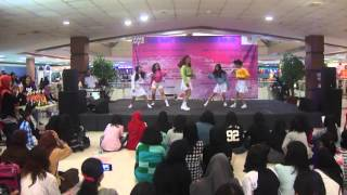 [101015] Popi Mixx at Dmall - huff n puff+intro+ice cream cake+dumb dumb