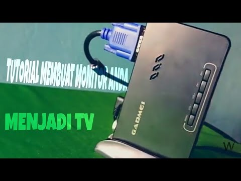 Tutorial Membuat Monitor PC Menjadi Tv