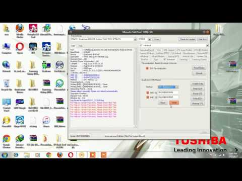 all qualcomm imei done with ultimate multi tool no root - YouTube