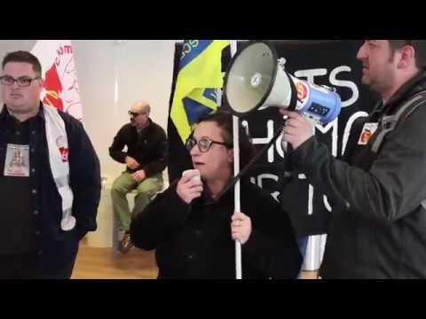 Action 28 mars 2019 contre le contrôle des chômeurs
